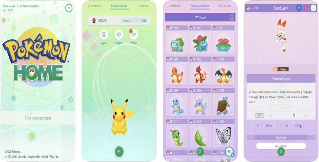Pokemon Home para iOS