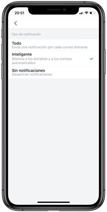 notificaciones de Spark 3