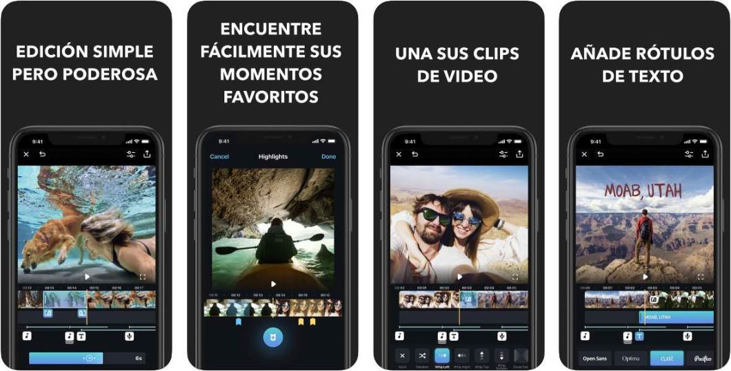 Editor de vídeo para iPhone