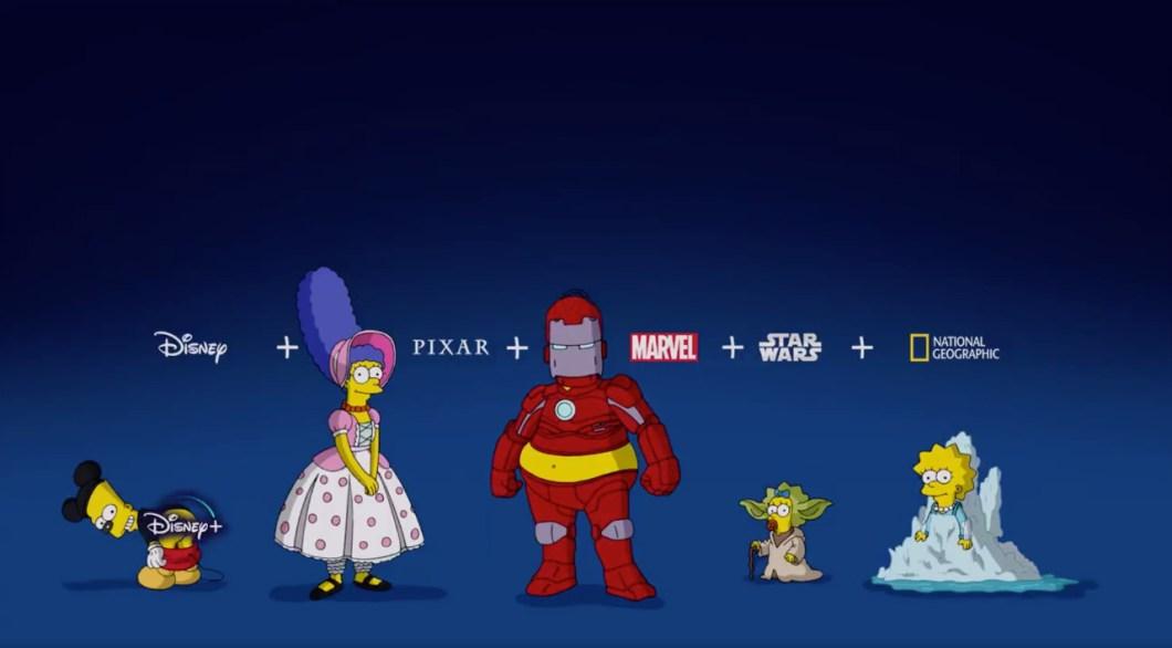 grupo en Disney