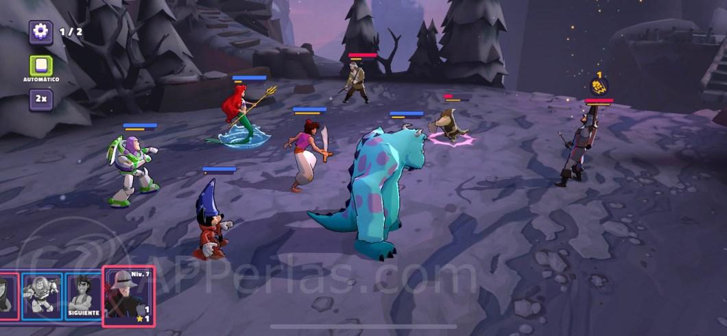 Disney Sorcerers Arena 3