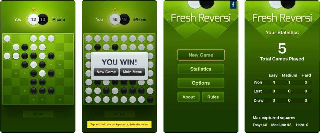 Juego Reversi para iOS