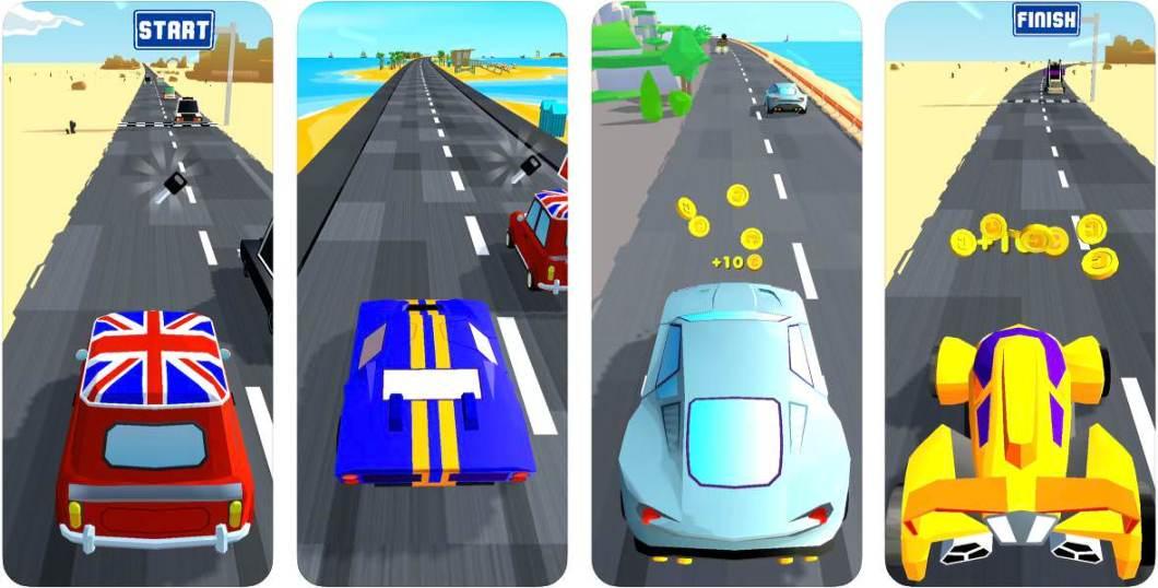 Juego de coches para iPhone