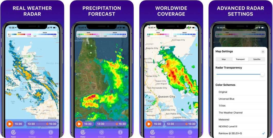 App de meteorología
