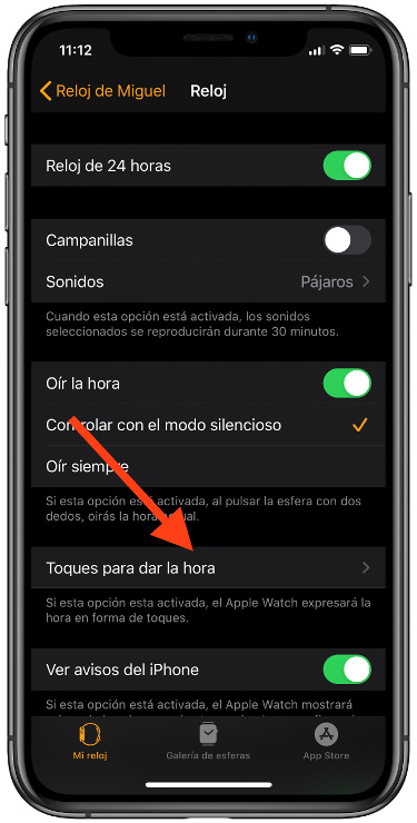 Apple Watch en código morse 1