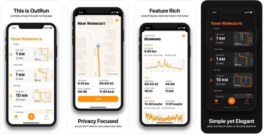 App de ejercicio para iPhone
