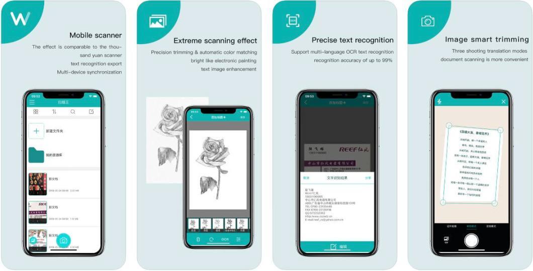 App de escáner para iPhone