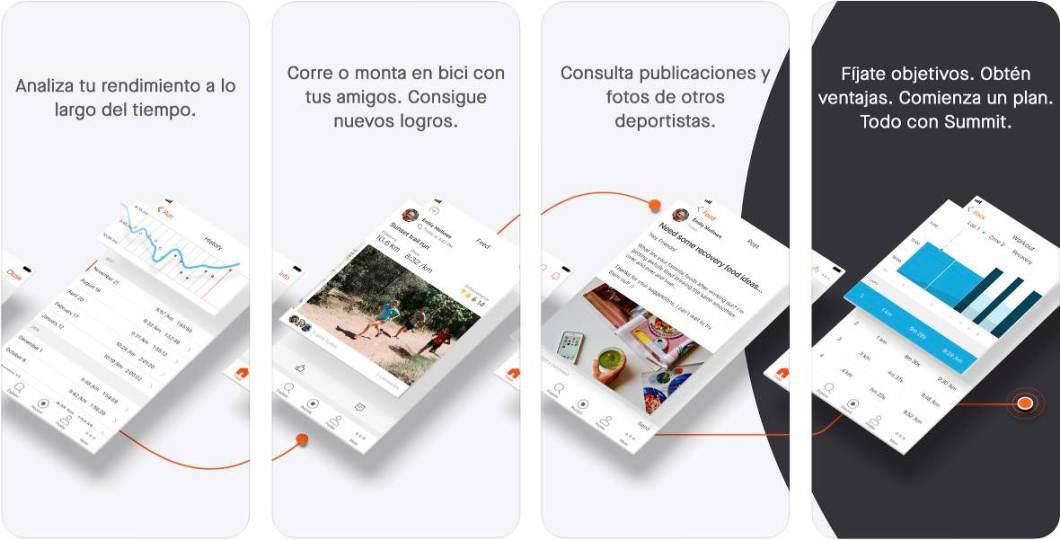 App Strava para iPhone