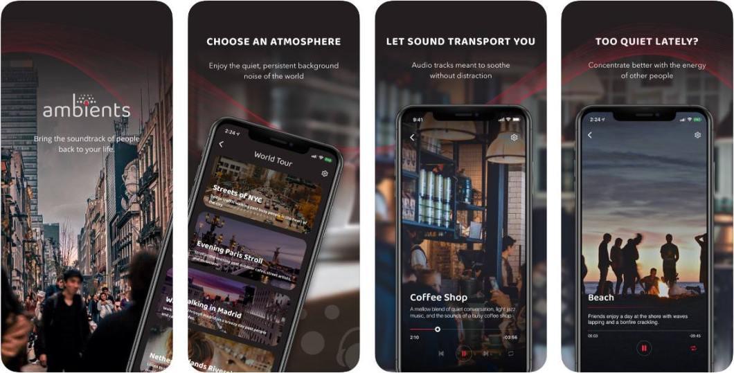 App de sonidos ambientes para iPhone