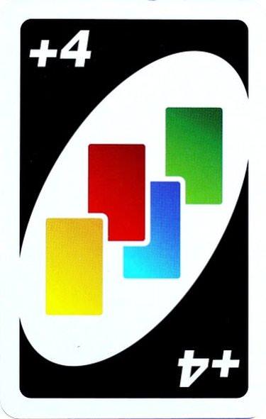 Carta +4 colores de UNO!
