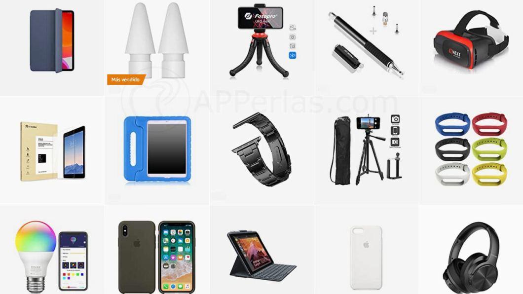 Accesorios, iPad, Airpods, Apple Watch y iPhone a buen precio