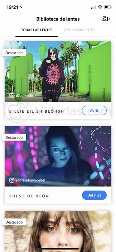 Photoshop Camera app iphone 3