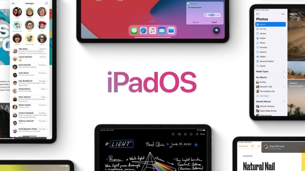 La letra pequeña de iPadOS 14