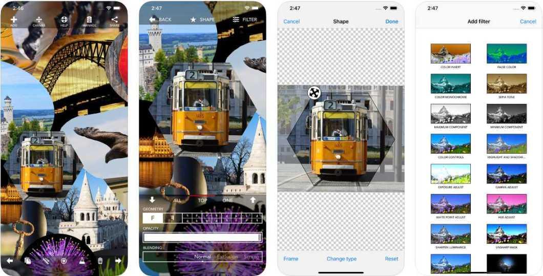 App de fotografía