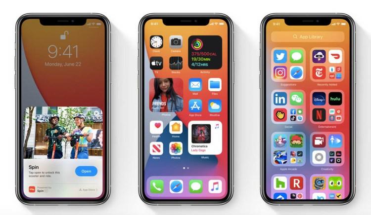 novedades ios 14 iphone