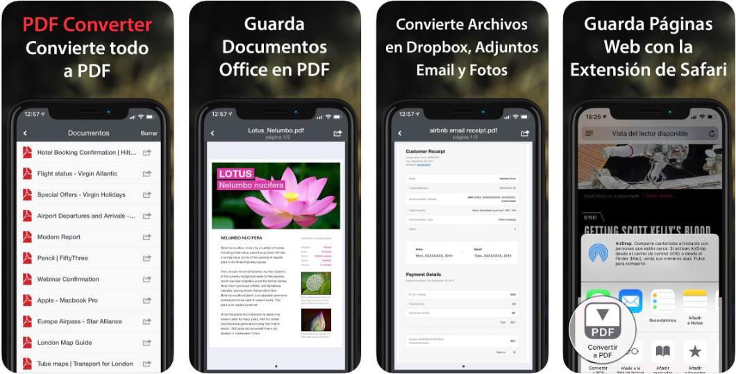 Convertidor de documentos a PDFs