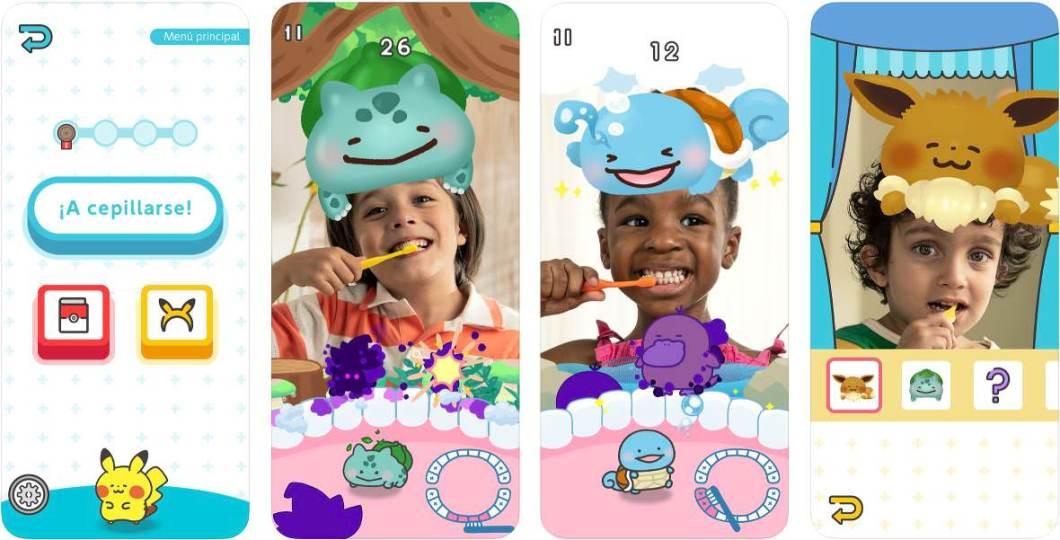 App de Pokémon para niños y niñas