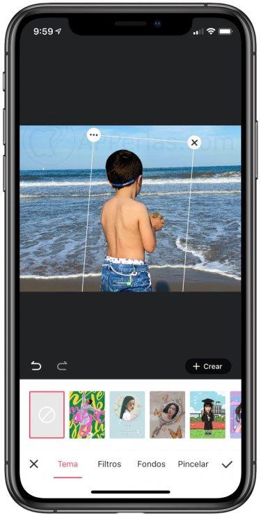 App que permite recortar personas automáticamente