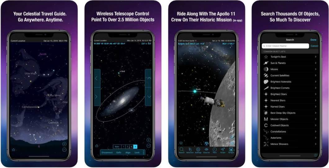 App SkySafari 6 Plus