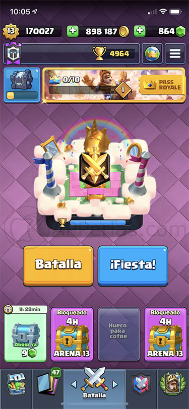 temporada 12 de clash royale 3