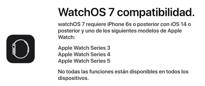 beta pública de WatchOS 7 1