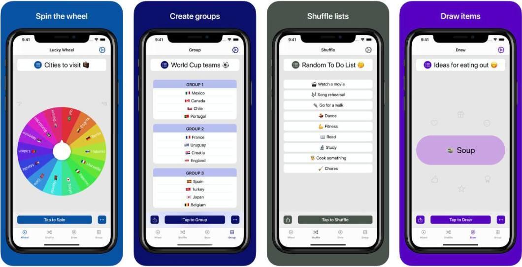 App para tomar decisiones