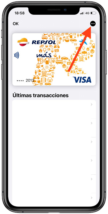 eliminar las tarjetas de Apple Pay 1