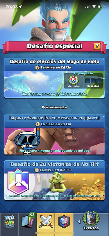 temporada 13 de clash royale batalla tropical 2