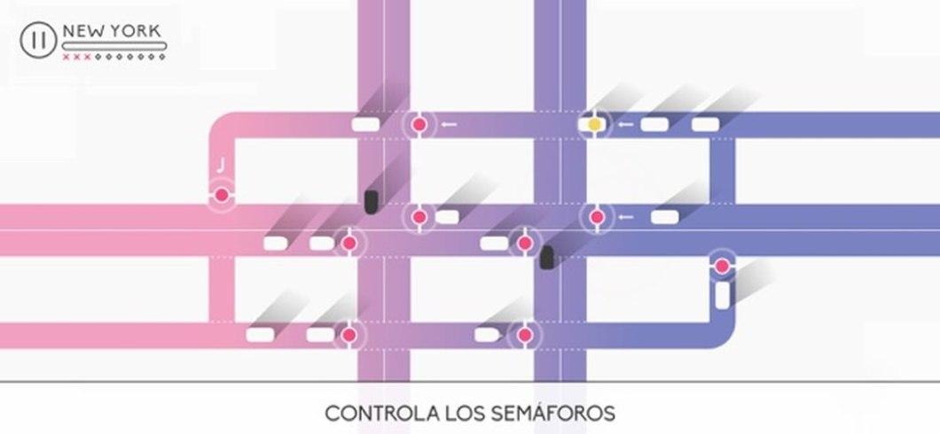 Gestiona el tráfico y supera los niveles