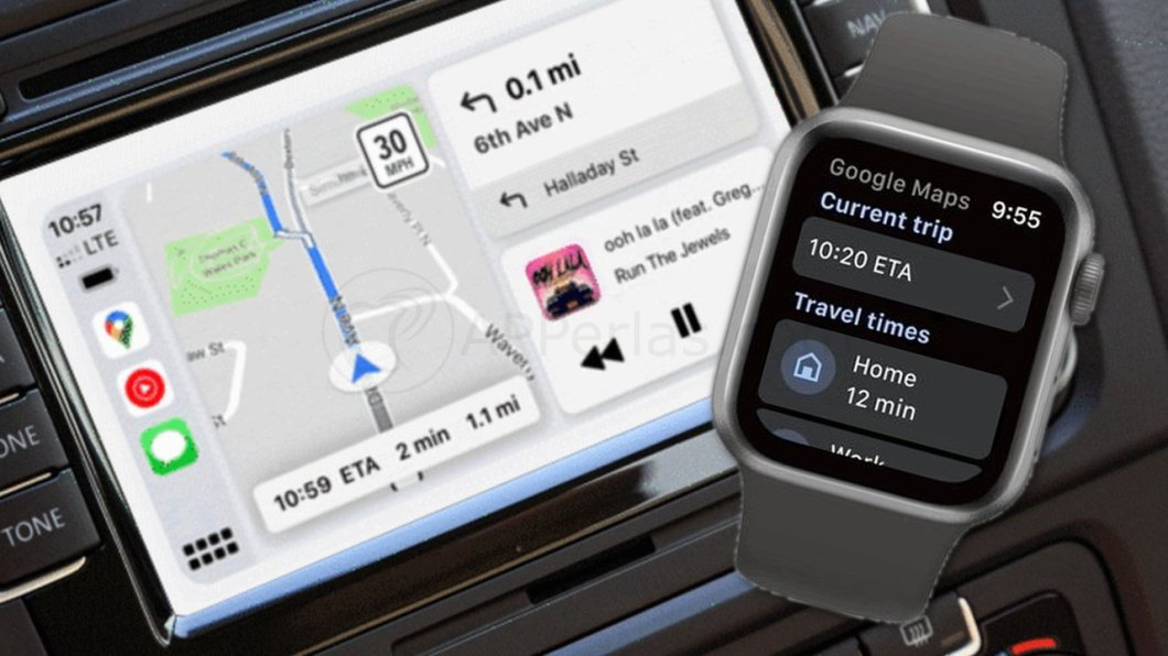 Google Maps para Apple Watch y CarPlay
