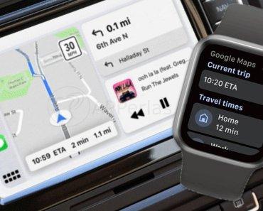 Disponible Google Maps para Apple Watch y CarPlay