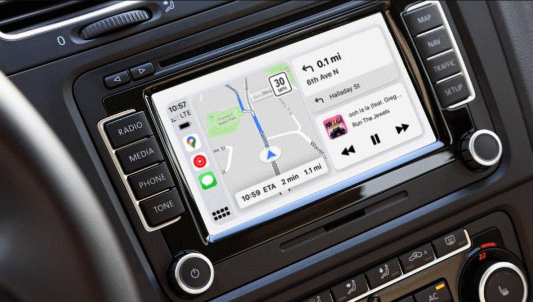 Interfaz de Google Maps para CarPlay