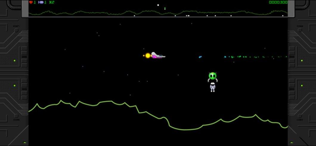 Juego arcade retro para iOS
