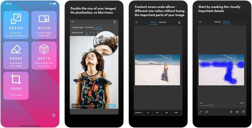 Buen editor de imágenes para iOS