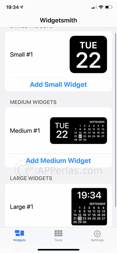 app de widgets widgetsmith ios 14 iphone 3