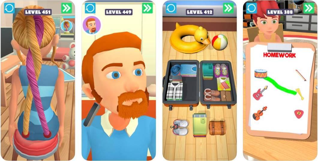 Multitud de minijuegos en esta app