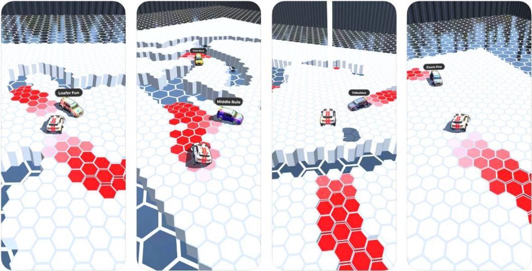 RacerKing, un juego de coches para iOS
