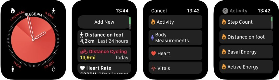 App para Apple Watch