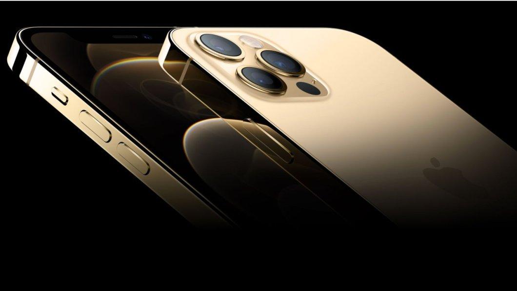 iPhone 12 PRO en color dorado