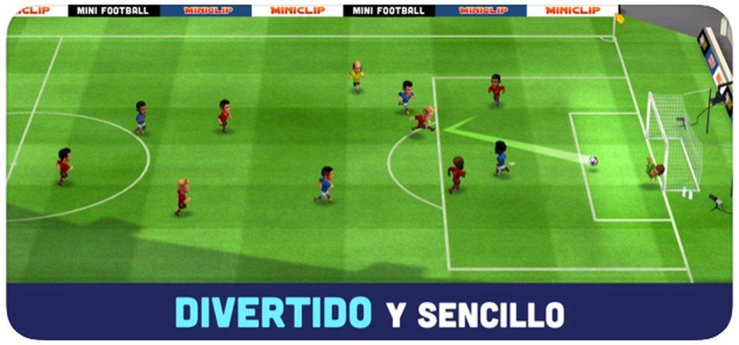 Simulador de fútbol para iPhone