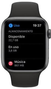 storage Apple Watch 1