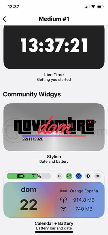 crear tus propios widgets widgy 2