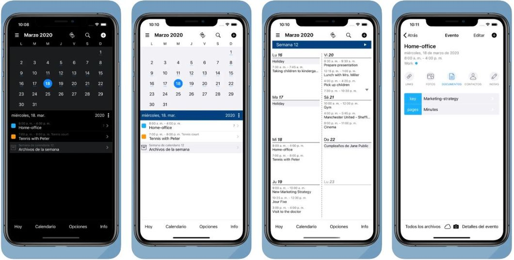 App FileCalendar para iOS