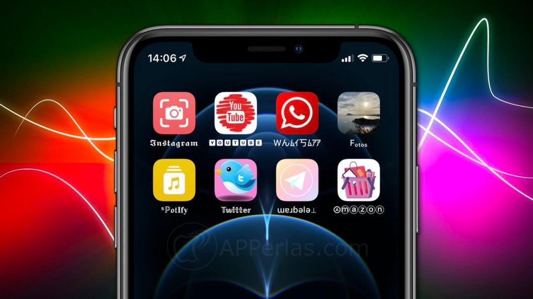 Cambia el icono de una app en iPhone y iPad