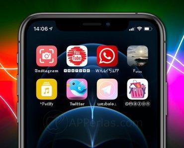 Cómo cambiar el icono de una app en un iPhone iOS 14