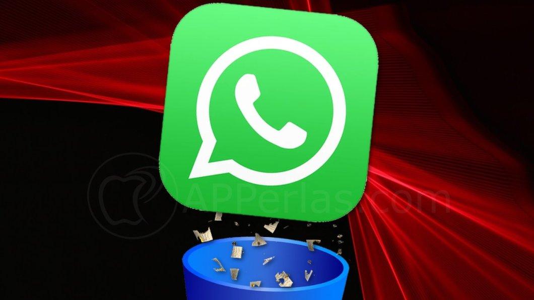 Opción de liberar espacio en WhatsApp