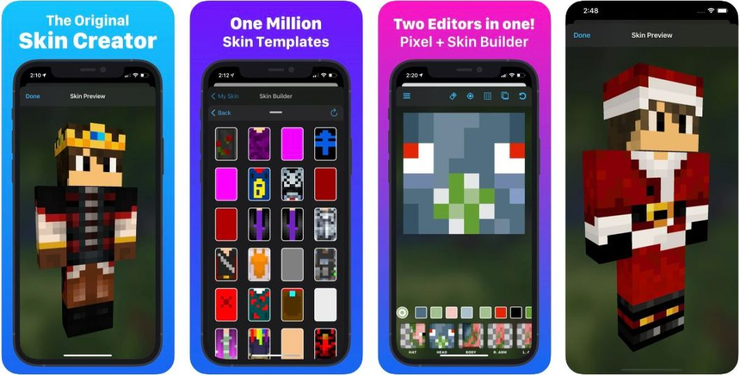 Skin Creator para iPhone