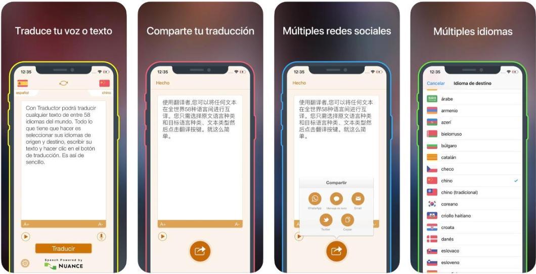 Traductor para iPhone y iPad