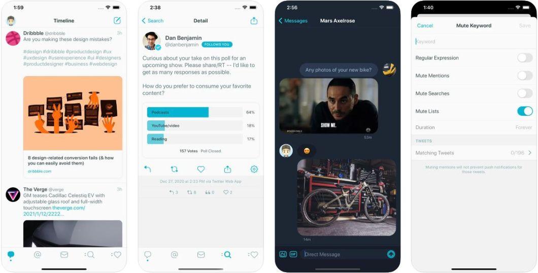 Tweetbot 6 para iOS