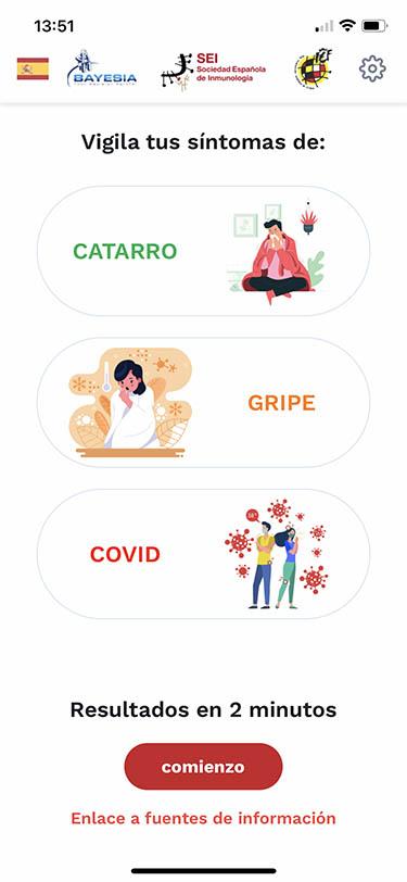 app de sintomas de covid Sei Seiapp 2
